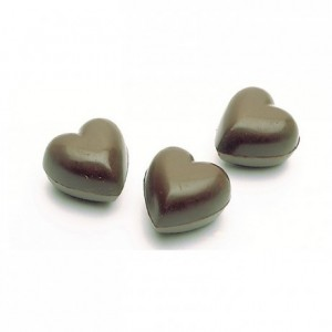 Chocolate mould polycarbonate 36 hearts