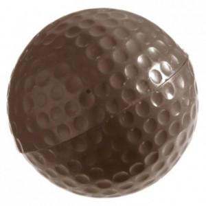 Moule 9 balles de golf Ø 40 mm en polycarbonate pour chocolat