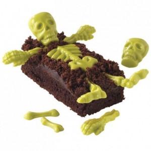 Moule à bonbons Wilton os de squelette 3D