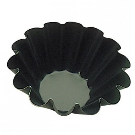 14 wave brioche mould Exopan Ø 180 mm H 73 mm