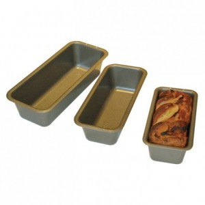 Cake mould silicone coated steel 250 x 100 x 70 mm