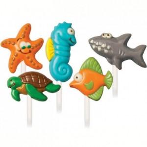 Moule à candy lollipop Wilton Sea Creatures