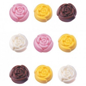 Wilton Candy Mold Wedding Roses in Bloom