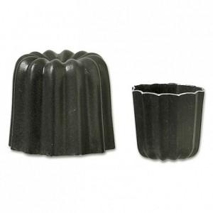 Cannelé mould non-stick aluminium Ø 35 mm H 35 mm (pack of 6)