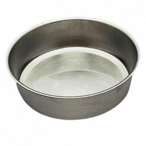 Moule à pain rond fer blanc Ø230 mm (lot de 3)