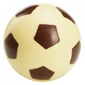 Moule ballon de foot en polycarbonate pour chocolat 190 x 120 mm