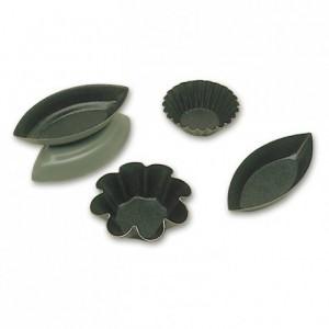 Small brioche mould Exopan Ø 35 mm (25 pcs)