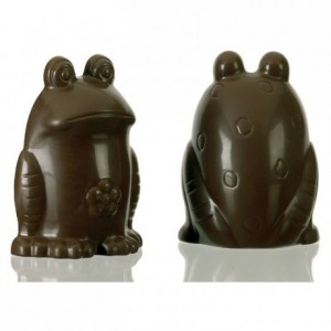 Chocolate mould polycarbonate 1 frog