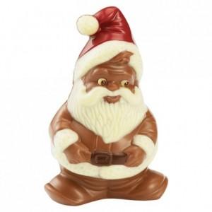 Moule Père Noël lutin en polycarbonate pour chocolat