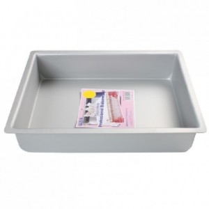 PME Deep Oblong Pan 27,5 x 37,5 x 7,5cm