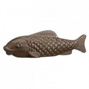 Chocolate mould polycarbonate 1 fish