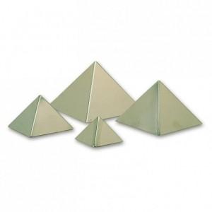Moule pyramide 120 x 80 mm en inox