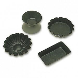 Fluted round mould Exopan L 45 mm (25 pcs)
