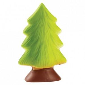 Chocolate mould polycarbonate half christmas tree