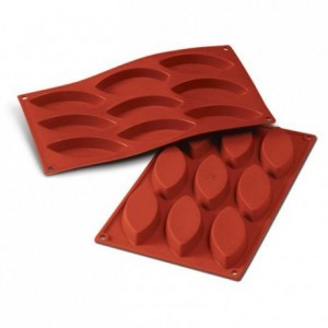 Moule silicone barquettes grandes 100 x 44 mm