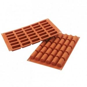Mini-log silicone mould 44 x 18 mm