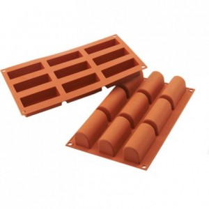 Medium log silicone mould 84 x 32 mm