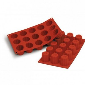 Medium cannelés silicone mould Ø 45 mm