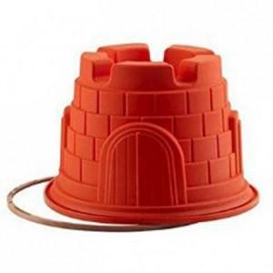 Castle silicone mould Ø 200 x 140 mm