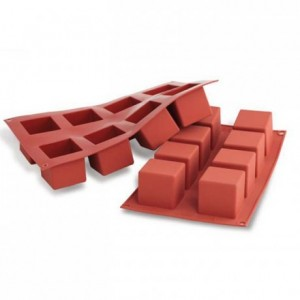 Moule silicone cubes 50 x 50 mm