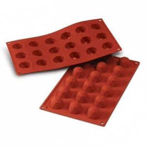 Small diamond silicone mould Ø 35 mm