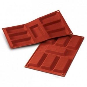 Big financiers silicone mould 95 x 45 mm