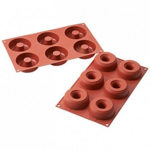 Donuts silicone mould Ø 75 mm