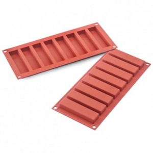 Fingers silicone mould 100 x 26 x 16 mm