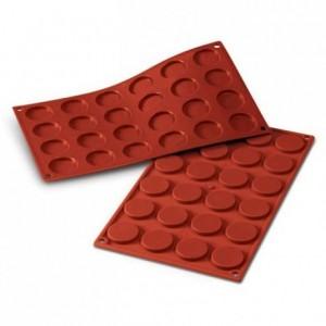 Mini-florentines silicone mould Ø 35 mm