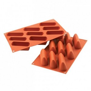 Gianduitto silicone mould 93.5 x 31.5 mm