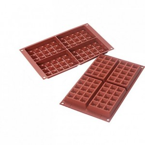 Moule silicone gaufre 130 x 81 mm