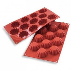 Moule silicone mini briochettes Ø 58 x 22 mm