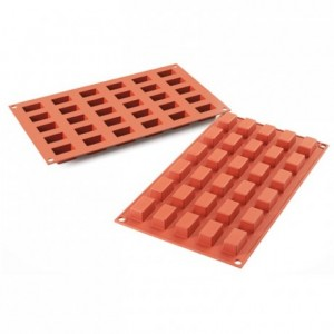 Cakes mini silicone mould 30 x 18 x 16 mm