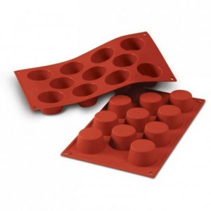 Moule silicone muffins petits Ø 51 mm
