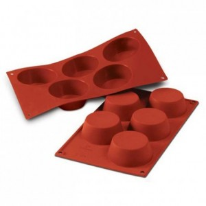 Moule silicone muffins grands Ø 81 mm