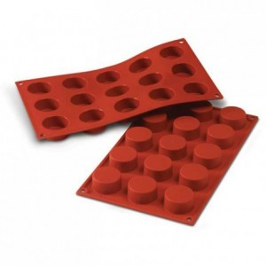 Moule silicone petits-fours Ø 40 mm