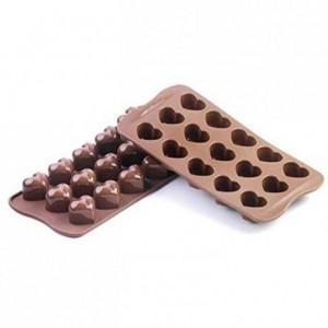Moule silicone pour chocolat Mon Amour 30 x 22 x 25 mm