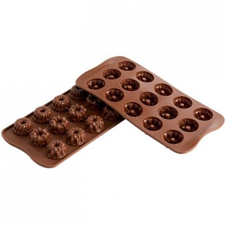 Moule silicone pour chocolat fantaisie Ø 28,5 x 15 mm