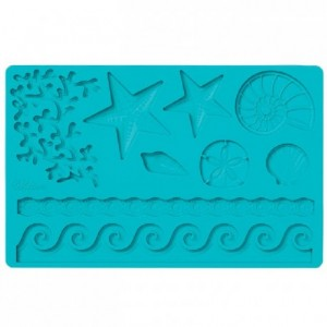 Wilton Fondant & Gum Paste Mold Sea Life
