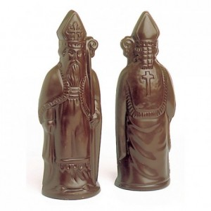 Chocolate mould polycarbonate 1 Saint Nicholas