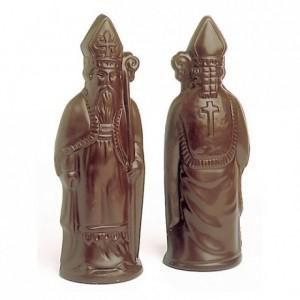 Chocolate mould polycarbonate 2 Saint Nicholas