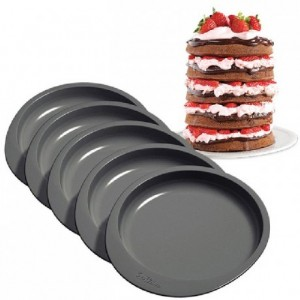 Moules Wilton anti adhésif layers cake rond 15 cm