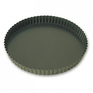 Fluted pie pan Exopan Ø 200 mm H 25 mm