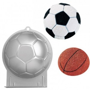 Moule Wilton forme demi ballon de football
