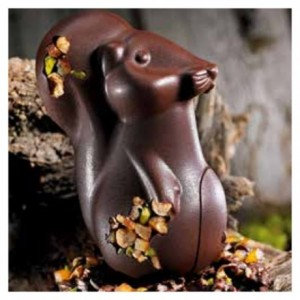 "Chocolate mould squirrel ""Ecureuil"" 15 cm"