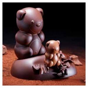 "Mould chocolate teddy bear ""Ourson"" 14 cm"