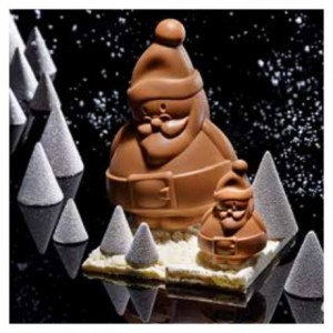 "Mould chocolate ""Santa Claus"" 7 cm"