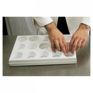 35 oval cake multimould sheet 85 x 50 mm