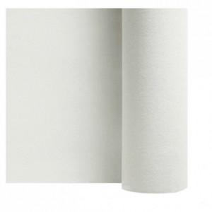 Non woven table cloth white 1.2 x 25 m