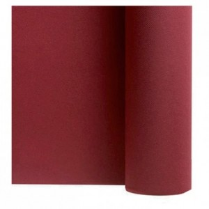 Non woven table cloth claret 1.2 x 25 m